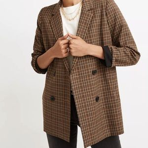 Madewell Caldwell Double Breasted Blazer